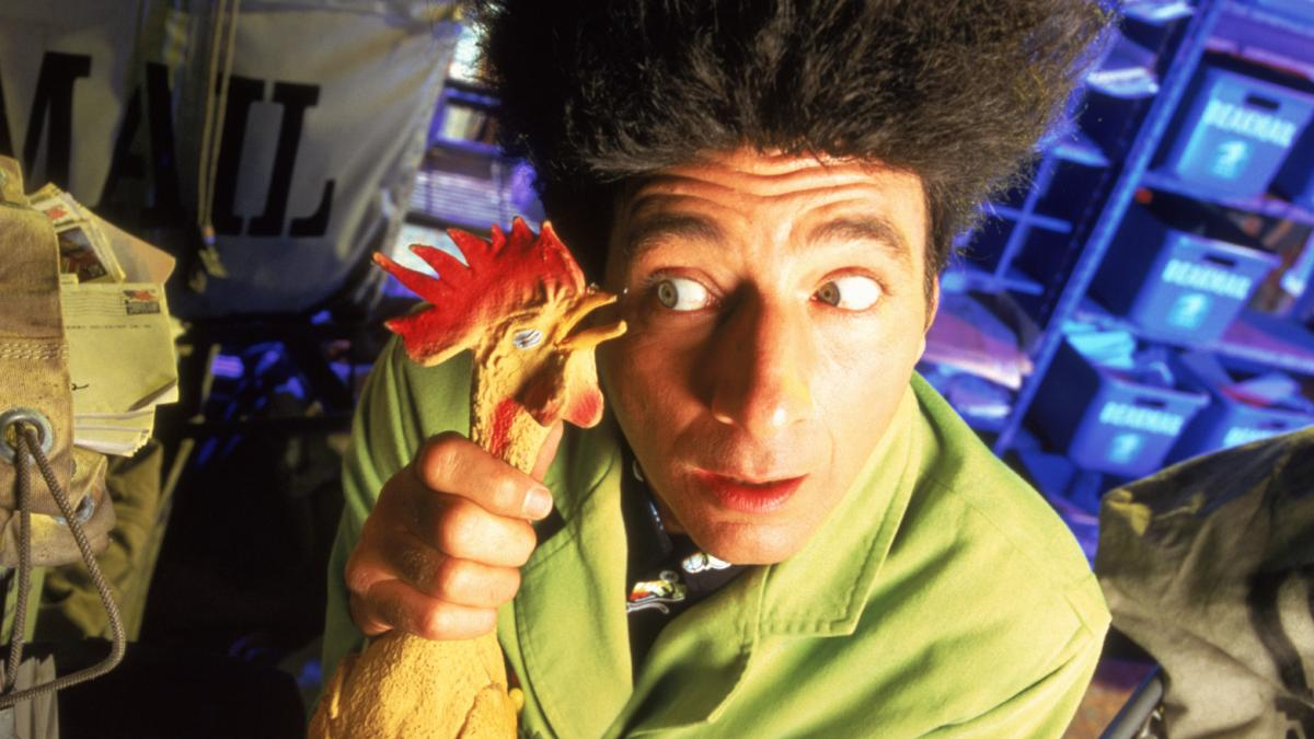 Beakman, played by performance artist Paul Zaloom, was on TV in the U.S. 20 years ago, but is still beloved in Latin America, where it plays in reruns.