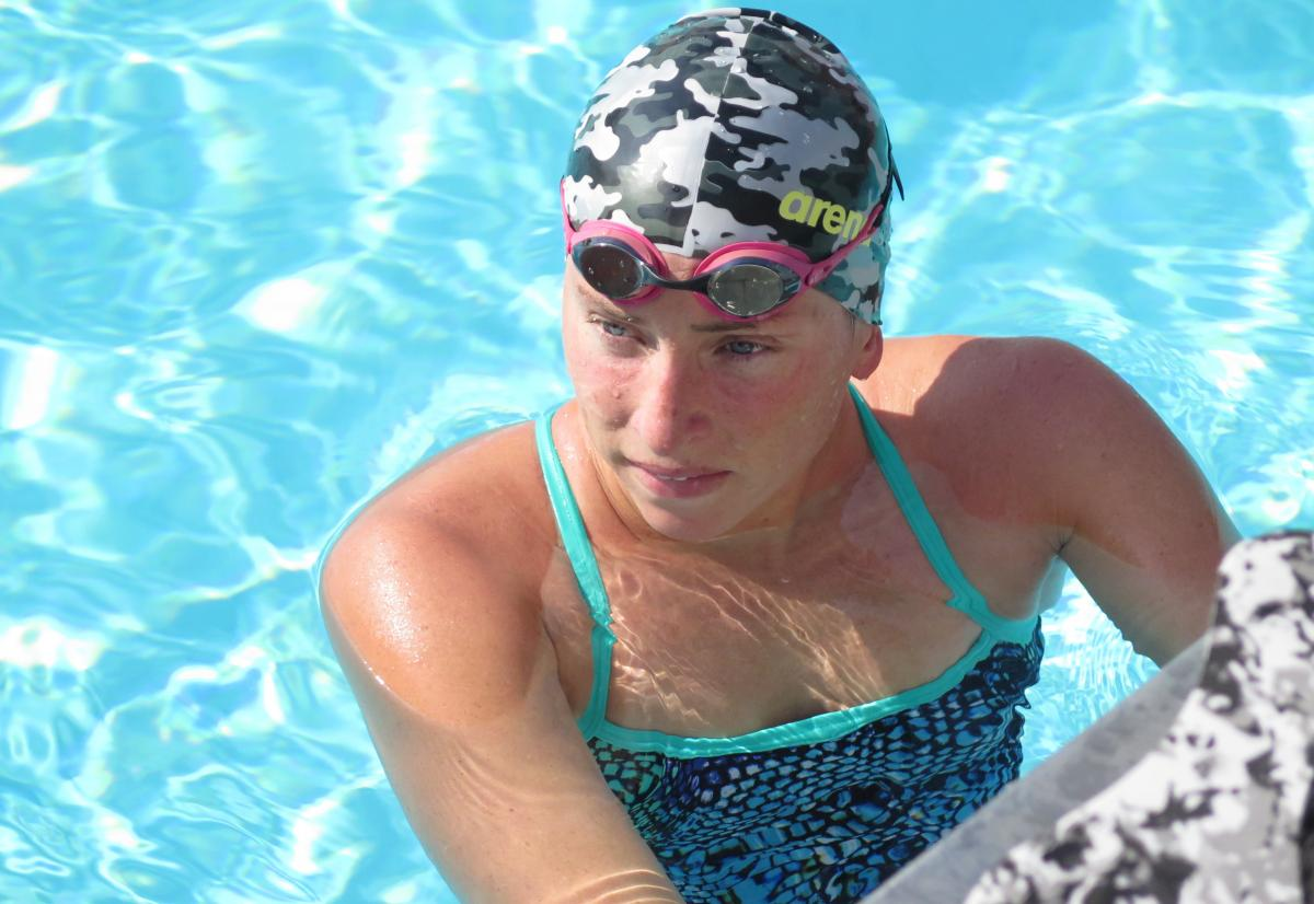 U.S. marathon swimmer Haley Anderson won a silver at the 2012 Olympics when she lost a sprint to the finish by four-tenths of a second. Anderson, 24, will be swimming the 6.2-mile race again in Rio, where much of the pre-race attention has focused on the