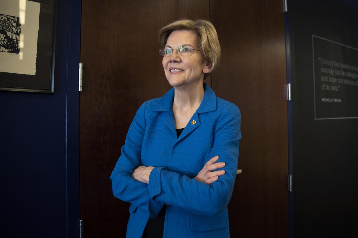 """On trade, Warren finds some agreement with President Trump. But she rejects the way he has dealt with trade partners who are """"good allies."""""""