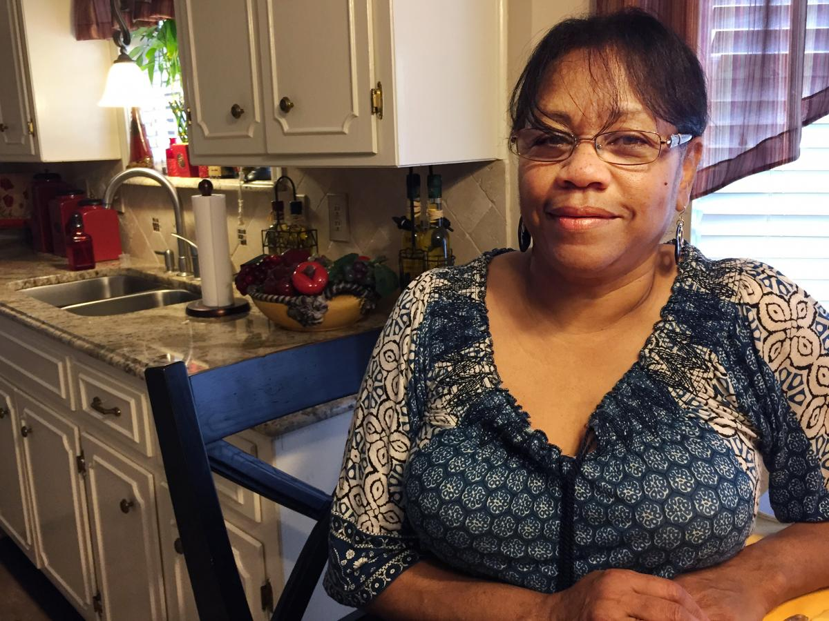 Sheron Bazille pays $219.01 a month for her health insurance. She knows the amount down to the penny.