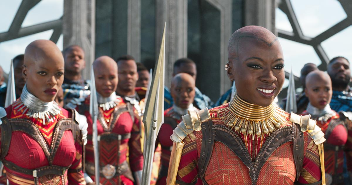 "Douriean Fletcher made everything from earrings to armor for the 2018 film Black Panther. Fletcher spent time studying in South Africa, and learned that, for some, ""what you wear is telling somebody who you are — whether it's the region you're from, the"