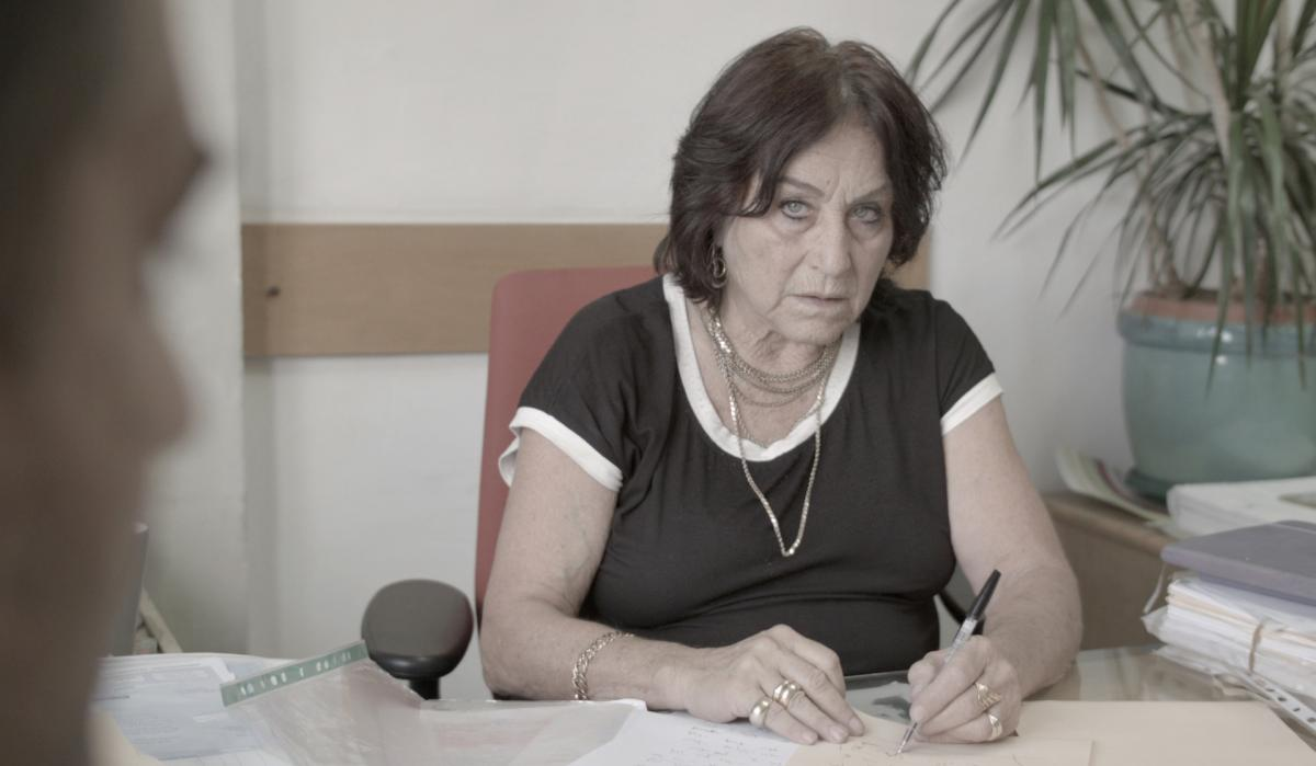 Israeli lawyer Lea Tsemel, 75, in her Jerusalem office. The documentary Advocate, about her work representing Palestinian suspects accused of attacks on Israelis, has sparked controversy in Israel.