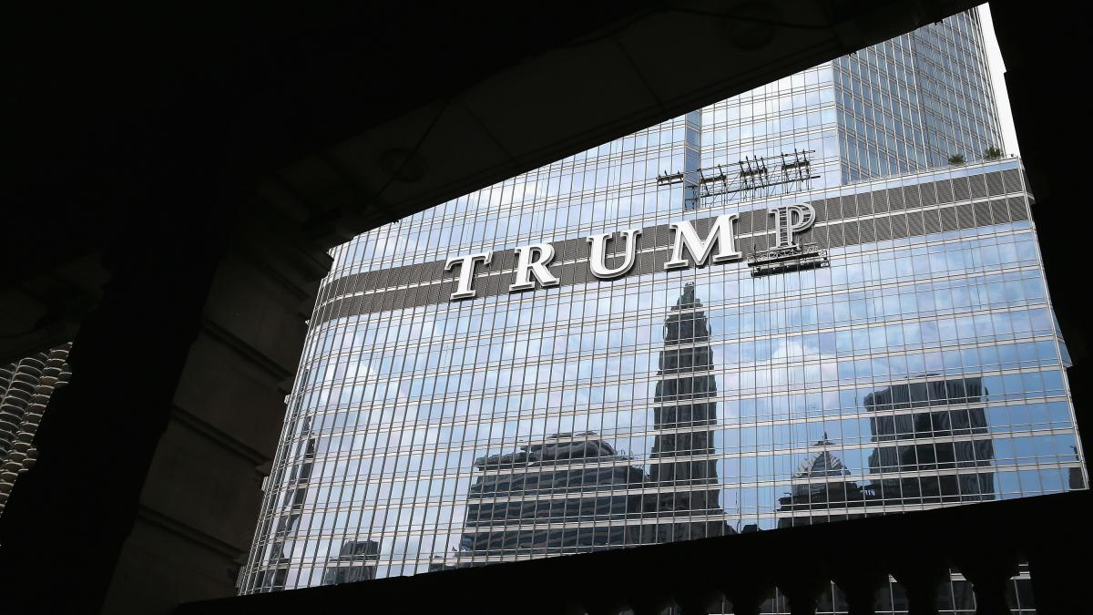 """Forbes journalist Dan Alexander writes about the president's potential conflicts of interest in White House, Inc. """"You can't have a blind trust and have a building that says 'Trump Tower' on the outside of [it],"""" Alexander says. """"How blind is that?"""""""