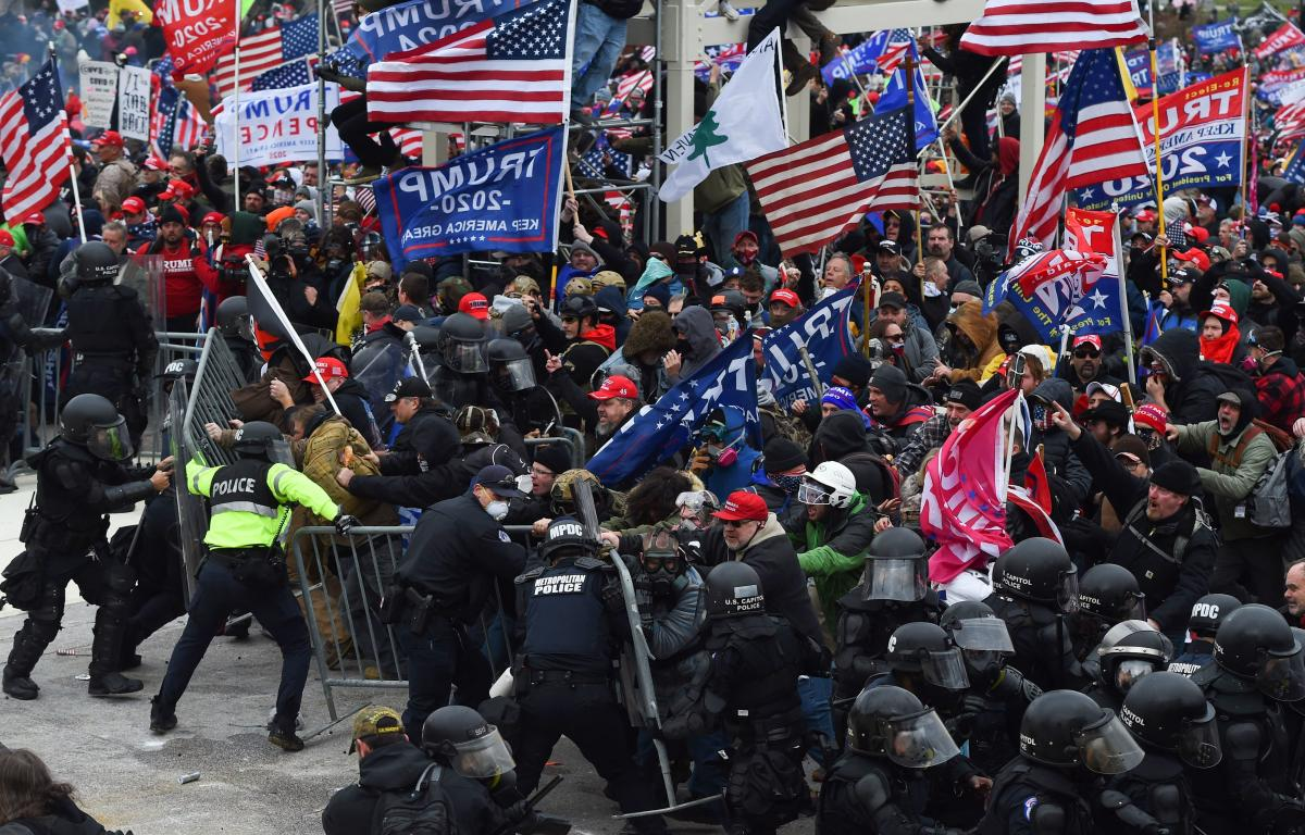 """When law enforcement officials failed to anticipate that pro-Trump supporters would devolve into a violent mob, they fell victim to what one expert calls """"the invisible obvious."""" He said it was hard for authorities to see that people who looked like them"""