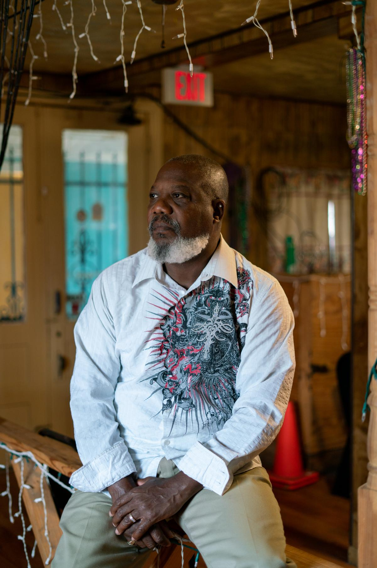 Hilton Kelley's home in Port Arthur was damaged by Hurricane Harvey. The local environmental and health activist says many Black people in the city were denied FEMA assistance to repair their homes, which he attributes to systemic racism in how the agency