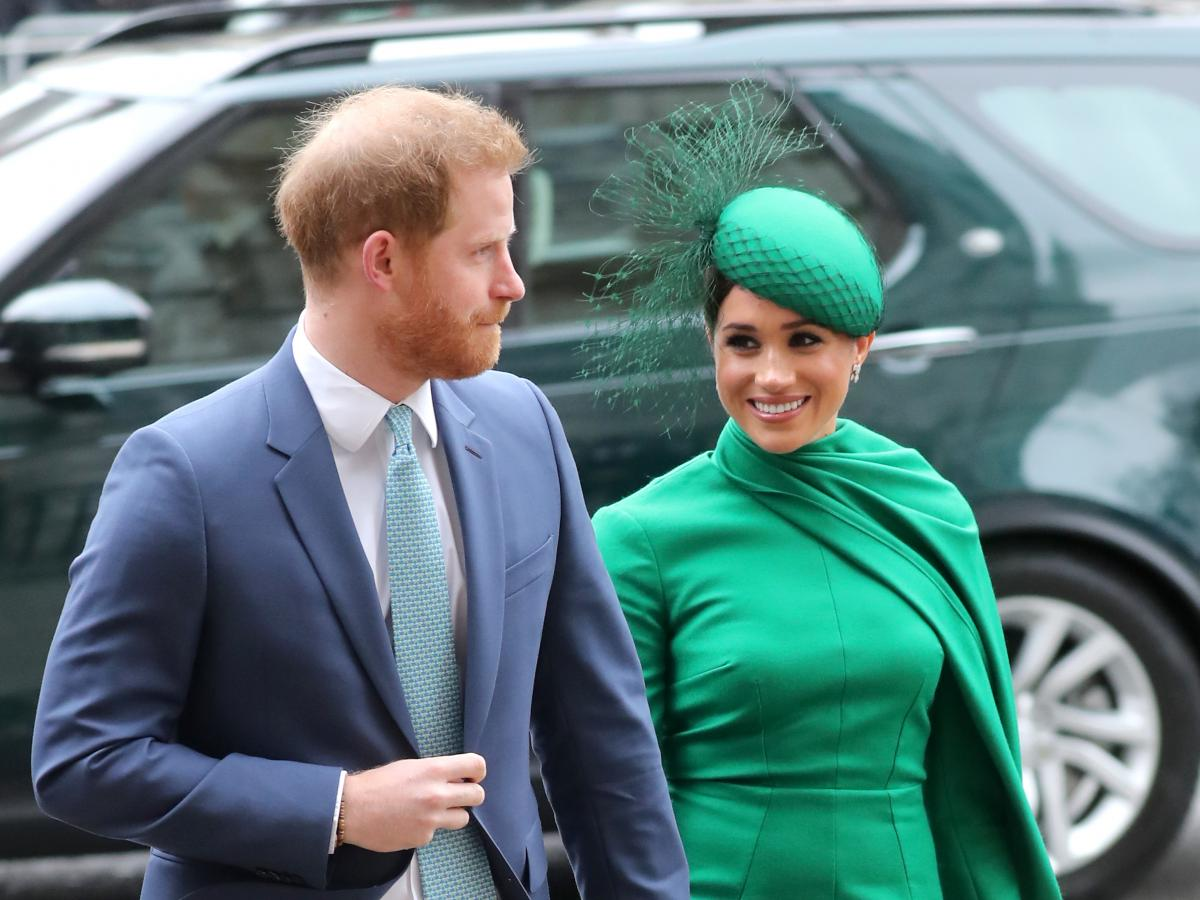 LONDON, ENGLAND - MARCH 09: Prince Harry, Duke of Sussex and Meghan, Duchess of Sussex attend the Commonwealth Day Service 2020 at Westminster Abbey on March 09, 2020 in London, England. The Commonwealth represents 2.4 billion people and 54 countries, wor