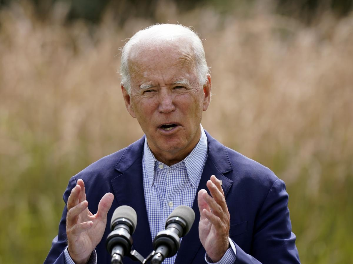 Joe Biden speaks about climate change and wildfires affecting Western states during a speech in Wilmington, Del., on Sept. 14. Although the president-elect has promised an ambitious agenda to tackle climate change, few expect a death knell for the oil ind