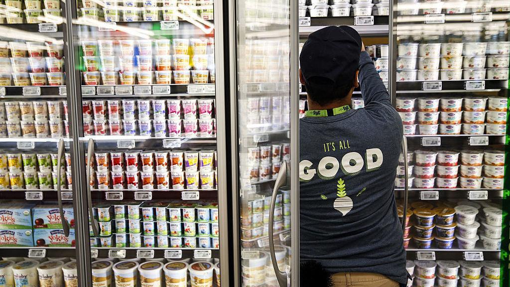 Yogurt selections like this one at a Los Angeles 365 by Whole Foods Market store are getting larger but a new U.K. study warns that many contain lots of added sugar