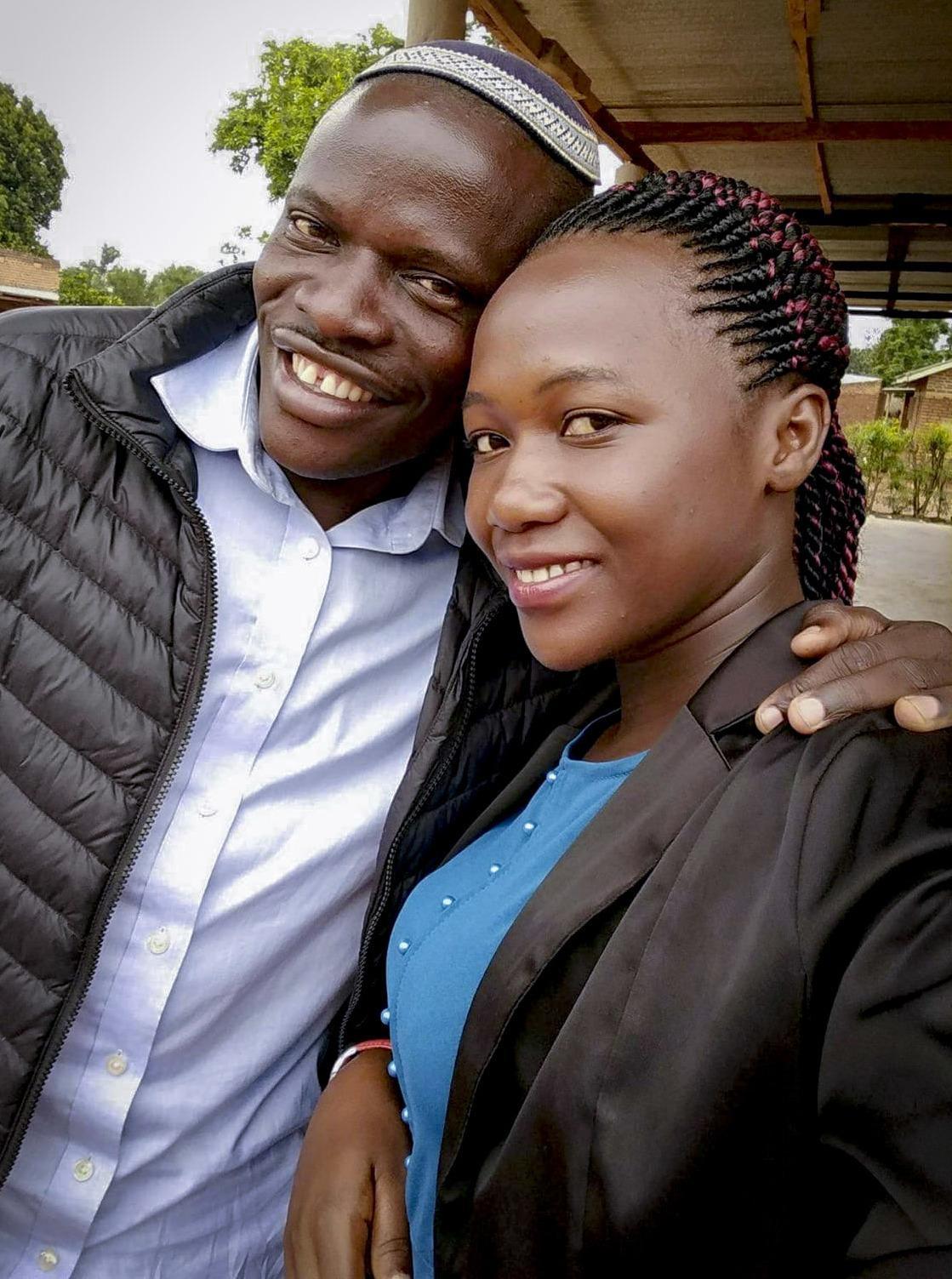 Shadrach Mugoya Levi and his wife, Naomi.