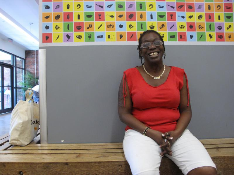 Marion Matthew is a home health aide supporting herself and her 17-year-old son.