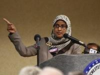 Sabina Mohyuddin was heckled as she spoke at the town meeting last week in Manchester, Tenn.