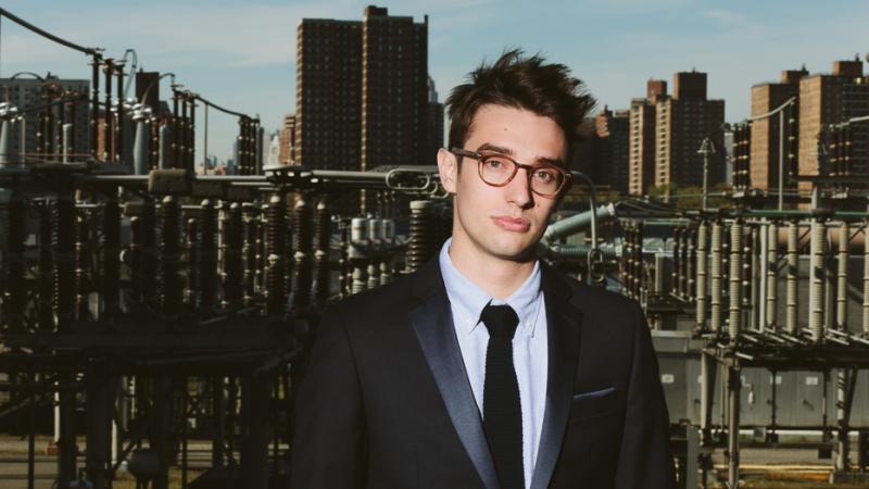 Composer Ellis Ludwig-Leone leads the chamber-pop ensemble San Fermin.