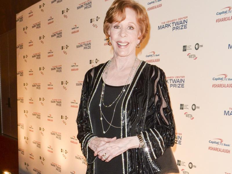 Carol Burnett arrives for the 16th Annual Mark Twain Prize For American Humor on Oct. 20 in Washington, D.C.