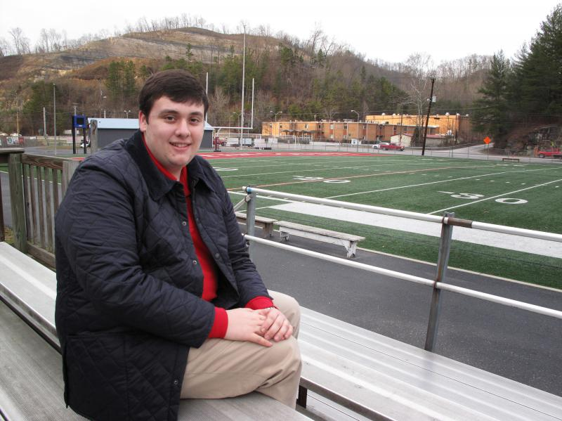 Colby Kirk of Inez, Ky., is a junior at the University of Kentucky, studying to be a financial analyst. He says there aren't many opportunities for college grads in his hometown.