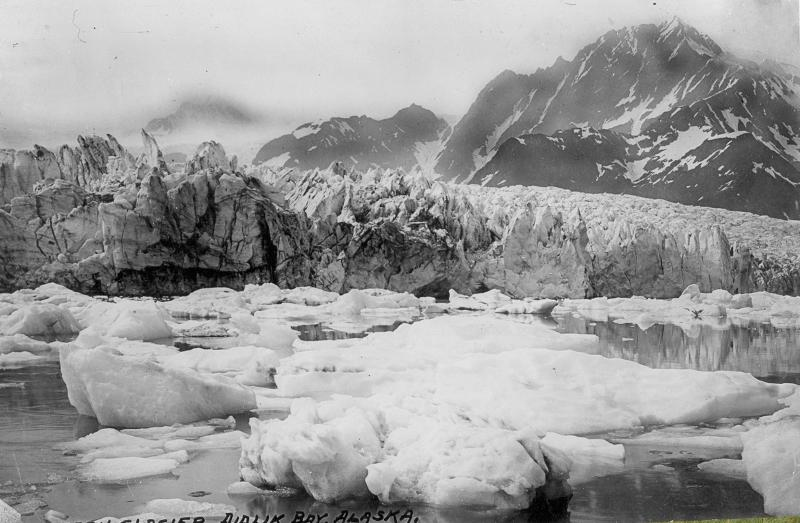 Pedersen Glacier, 1917