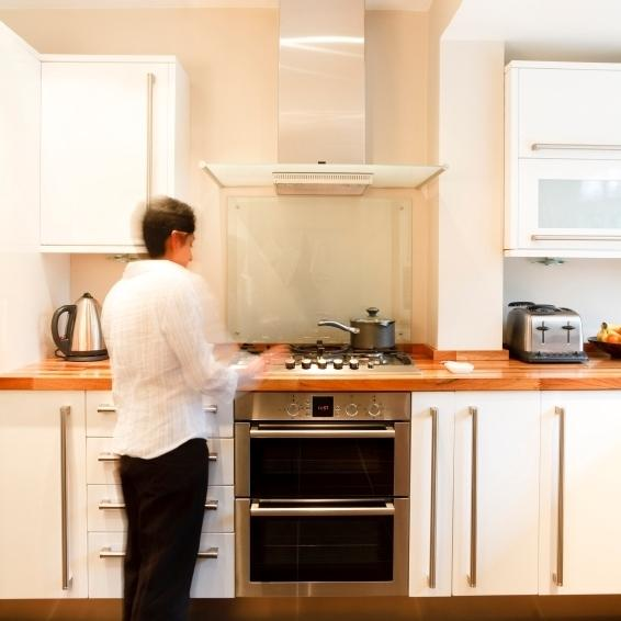 Cooking on gas and electric stoves can create indoor air pollution. The best way to avoid it is to buy a good range hood that vents outside, experts say.