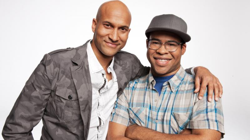 Keegan-Michael Key (left) and Jordan Peele both started their careers at Second City, Peele in Chicago and Key in Detroit.