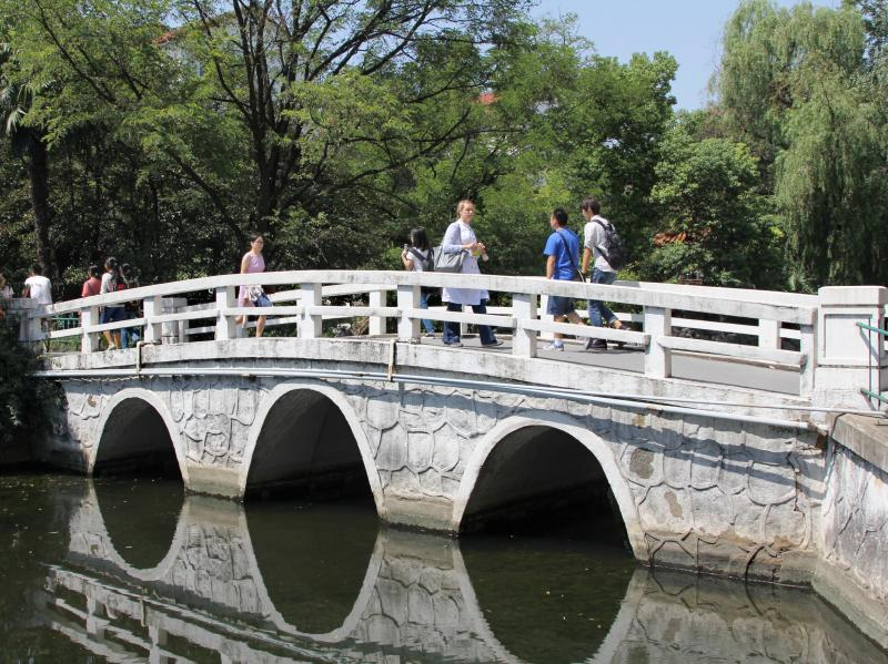 The university is currently located on the leafy campus of East China Normal University. Next year, NYU Shanghai will move to a 15-story building in the city's financial district.