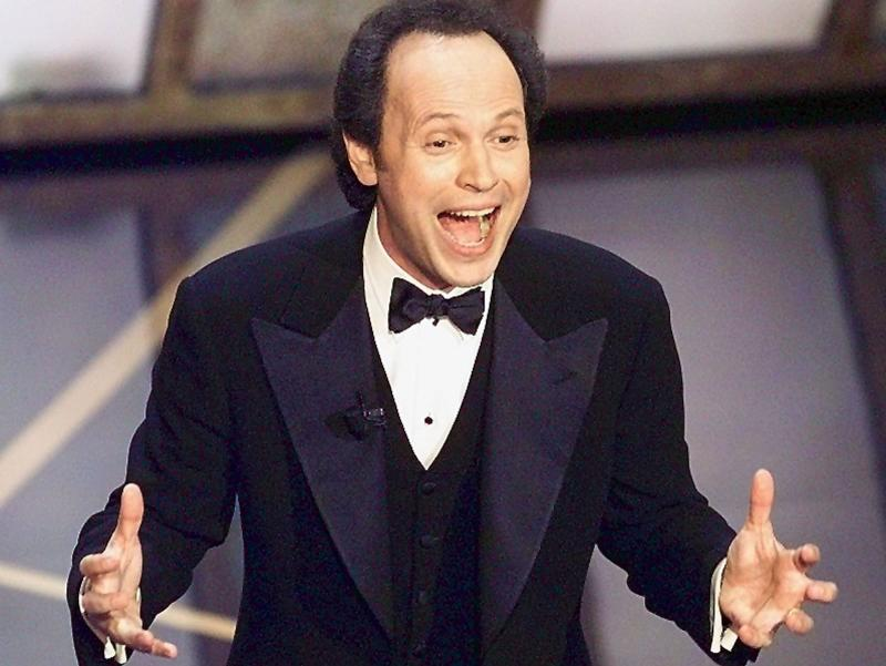 """Billy Crystal has hosted the Academy Awards more times than anyone except Bob Hope. """"I love doing it because I love the danger of it,"""" Crystal says. """"You have to come through and think on your feet."""""""