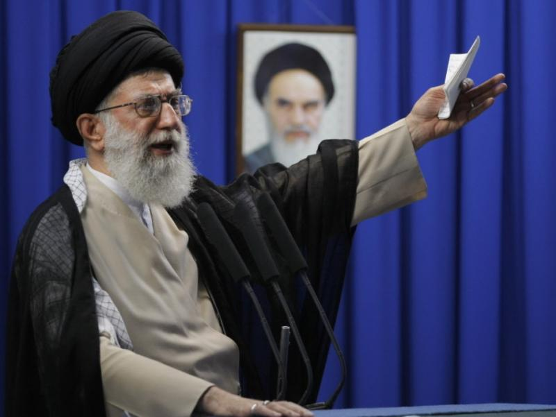 Iran's Supreme Leader Ayatollah Ali Khamenei, shown here in 2009, recently set up a Facebook page, though the Iranian government bans ordinary Iranians from access to Facebook and other social media sites.