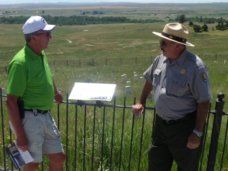 Little Bighorn Tour Guide Brings Battle To Life | 88 5 WFDD