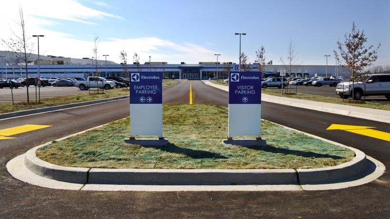 Electrolux's new plant in Memphis, Tenn., is the Swedish appliance company's most modern and high-tech facility. The factory will open this summer while an Electrolux plant in Quebec, Canada, is being shuttered.