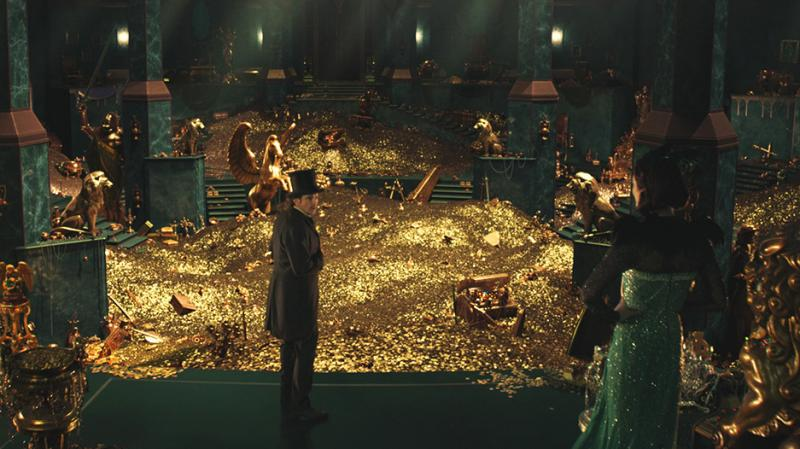 James Franco stars as the Wizard of Oz before the Wizard meets Dorothy in Oz the Great and Powerful.