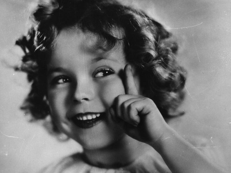 Shirley Temple started performing in films when she was just 3 years old.