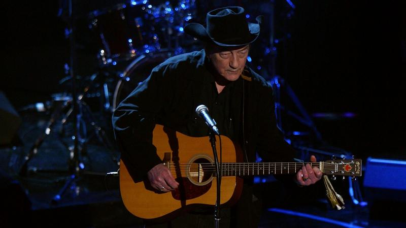 Stompin' Tom Connors performs at the 2008 NHL Awards at  Elgin Theatre in Toronto, Canada.