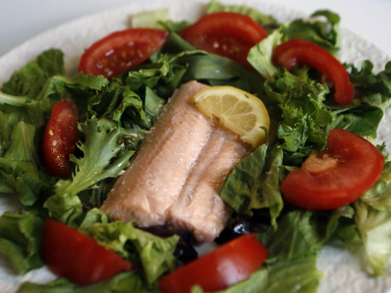 People following a 5-2 diet would eat lean protein and non-starchy vegetables two days a week.