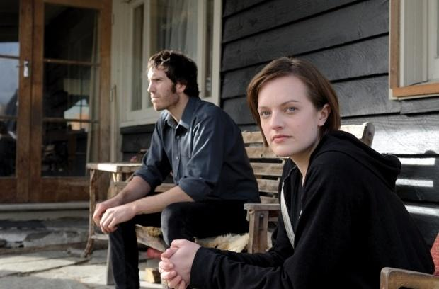 Elisabeth Moss (right) and Thomas Wright star in Jane Campion's new series Top of the Lake.