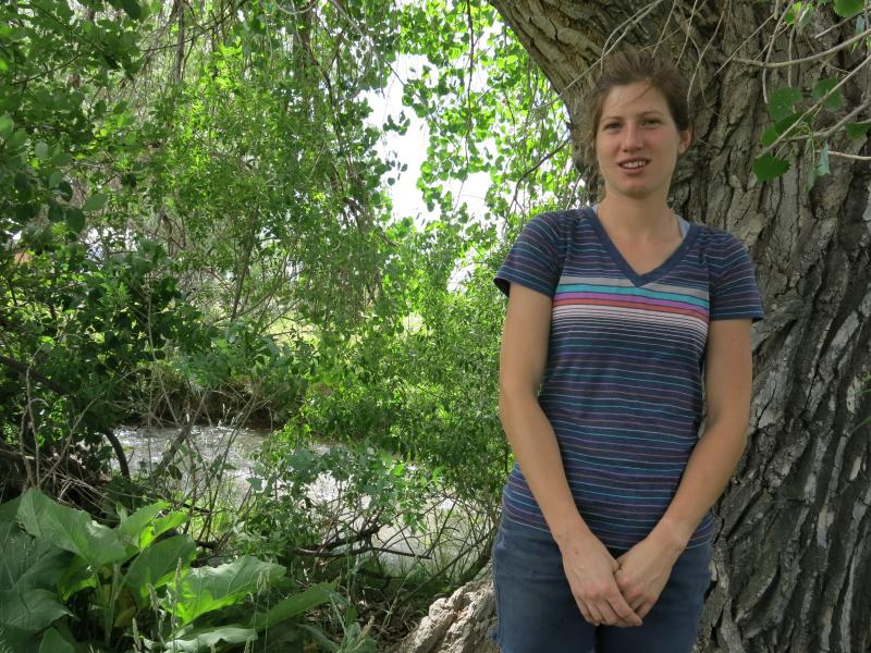 Eva Teague, 31, is trying to start her own pig farm in Colorado but is running into financial obstacles typical of many young farmers trying to break into the business.