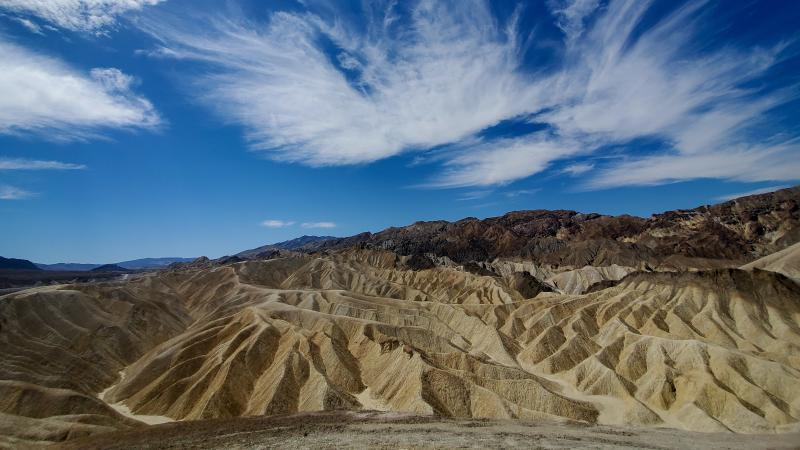 A monitoring station at Death Valley National Park measured a temperature of 130 degrees Sunday — likely a record for August in the park, the National Weather Service says.