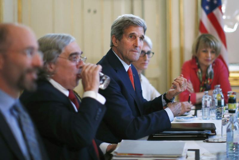 Secretary of State John Kerry meets with Iranian Foreign Minister Mohammad Javad Zarif in Vienna, Austria, on Friday.