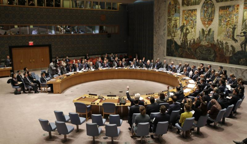 At U.N. headquarters in New York on Wednesday, the Security Council approved a resolution that diplomats say would impose the toughest sanctions on North Korea in two decades.