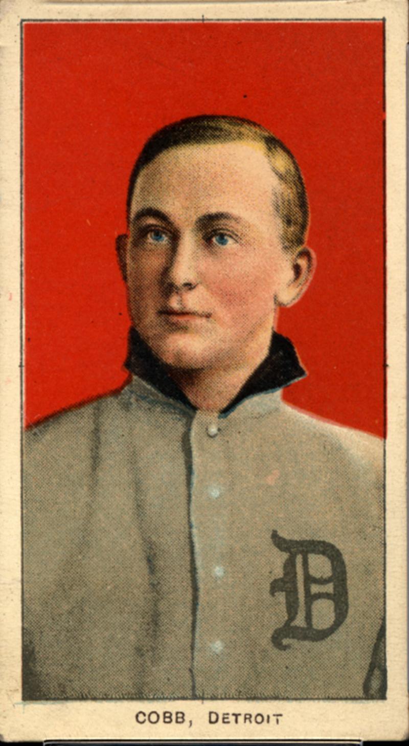 A Collectors Dream 7 Rare Ty Cobb Baseball Cards