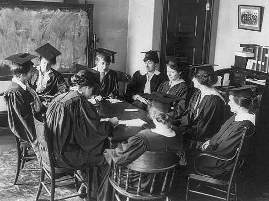 Barnard College student council in 1916
