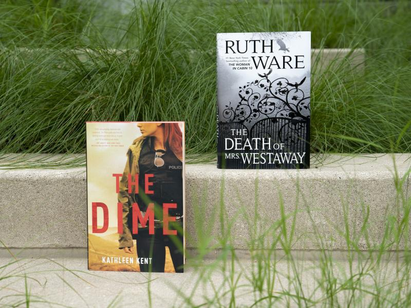 The Death of Mrs. Westaway by Ruth Ware / The Time by Kathleen Kent