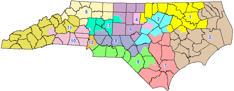 Carolina Curious: Why Not Draw Voting Districts With County Lines ...