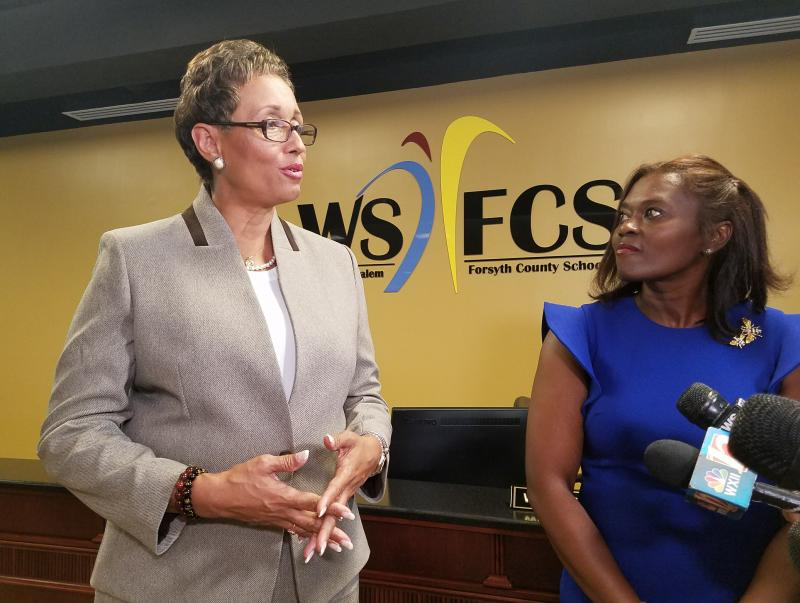 Winston-Salem/Forsyth County School Board Names New