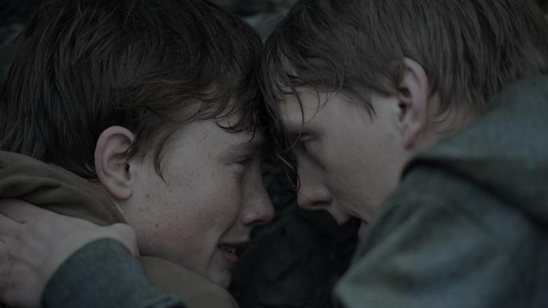 Isak Bakli Aglen and Jonas Strand Gravli play teens who are on the Norwegian island of Utøya during the 2011 terror attacks in Paul Greengrass' new film, 22 July. The film is being released Wednesday on both Netflix and in 100 theaters worldwide.