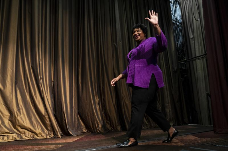 In addition to running for Georgia governor and registering some 800,000 voters, Stacey Abrams has written eight romance novels under the nom de plume Selena Montgomery. Now, her first three novels will be reissued.