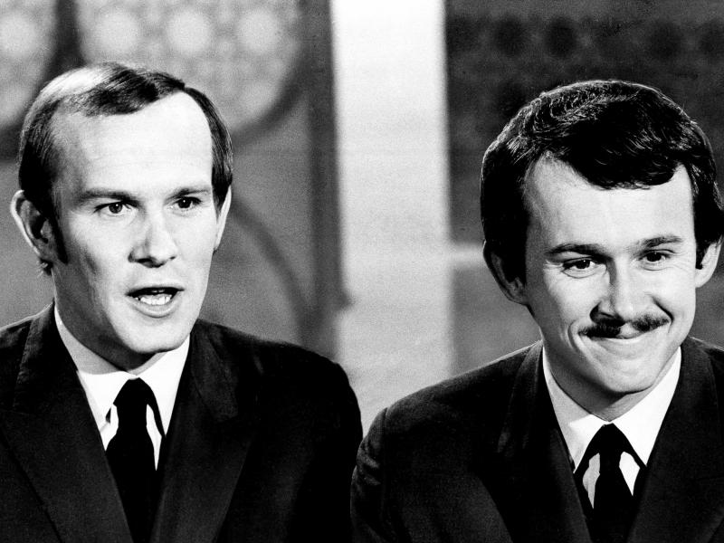 Tom and Dick Smothers battled with CBS censors over the content of The Smothers Brothers Comedy Hour.