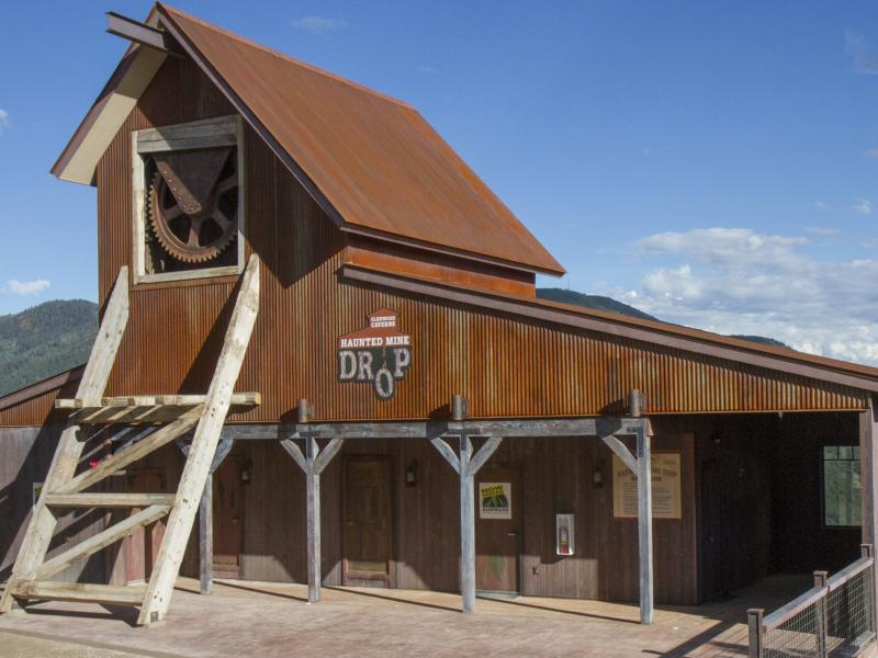 The Haunted Mine Drop is shown in this July 2017 file photo at Glenwood Caverns Adventure Park in Glenwood Springs, Colo. A recent investigation revealed a 6-year-old girl on vacation with her family died earlier this month after operators of the vertical