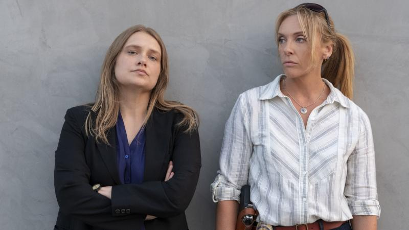 Merritt Wever and Toni Collette play two detectives investigating a series of sexual assaults in the Netflix show Unbelievable.