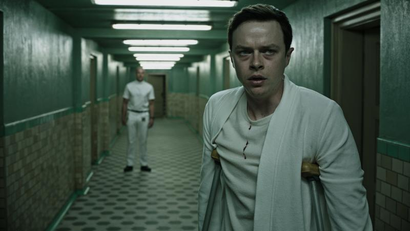 A Wall Street trader (Dane DeHaan) finds himself in sinister ... crutches ... in A Cure For Wellness.