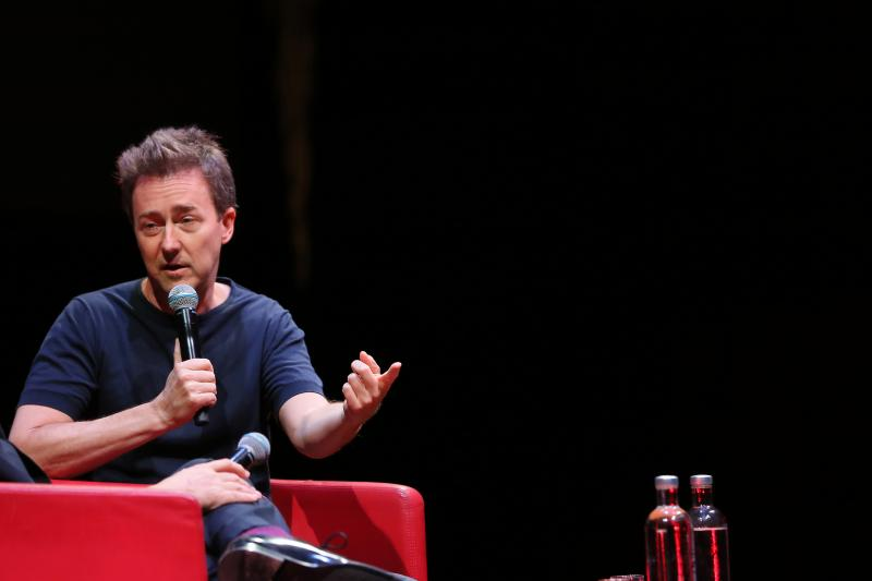 Edward Norton Masterclass - 14th Rome Film Fest 2019