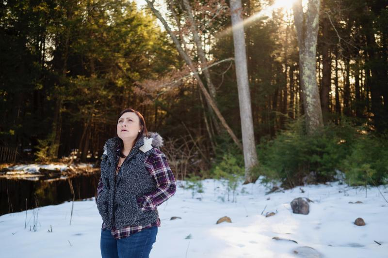 Jennifer Ford of Oakham, Mass., went through serious postpartum depression after her second pregnancy. She got help from her obstetrician after he connected with a statewide program that supports doctors.