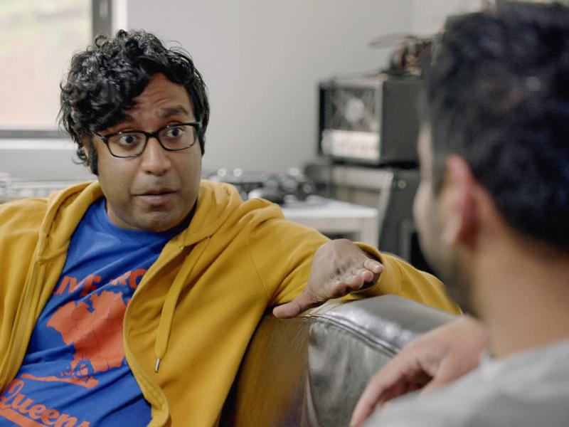 """Hari Kondabolu is the writer and star of the new documentary """"The Problem With Apu."""""""