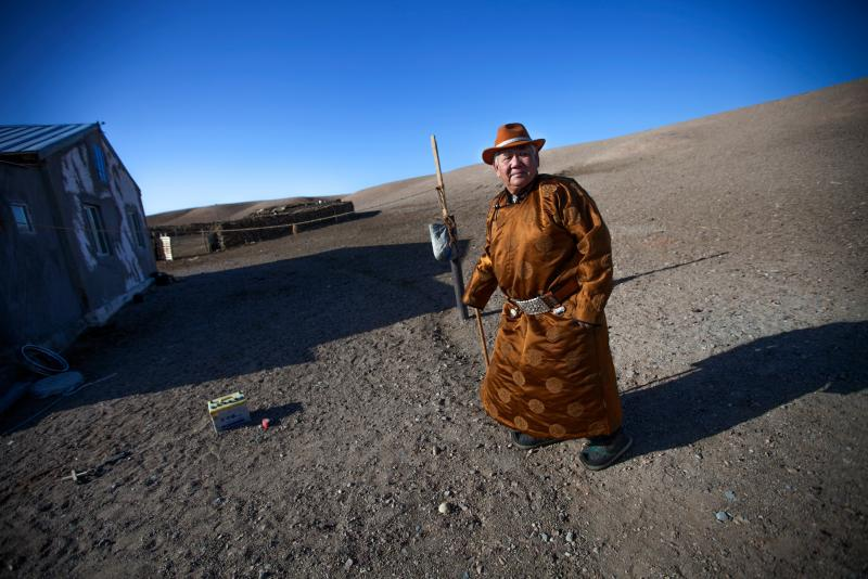 The U.N. wants better health for older folks, like nomadic herder Mijiddorj Ayur of South Gobi, Mongolia.